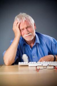 Headache guy